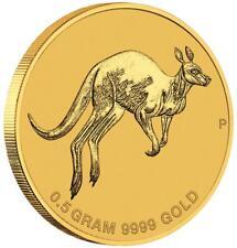 Australien - 2 Dollar 2017 - Kangaroo / Känguru - Mini Roo - 1/62 Oz Gold ST