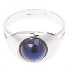 Cute Eye Shape Color Change Emotion Feeling Mood Ring Changeable Adjustable M3A5