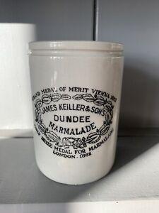 Vintage JAMES KEILLER & SONs Dundee Marmalade Pot