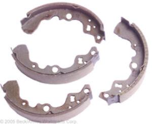 Drum Brake Shoe Rear Beck/Arnley 081-2370 fits 85-88 Chevrolet Sprint