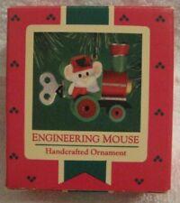 Hallmark Keepsake Ornament - Engineering Mouse - 1985