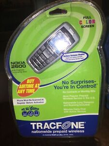 Tracfone Nokia 2600 Cell Phone Full Color Screen New in Package Sealed