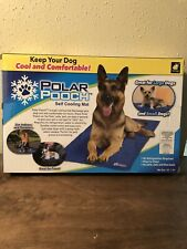 """New listing Polar Pooch Self Cooling Mat 22"""" x 33"""" Dogs Large & Small Nib Great For Cats Too"""