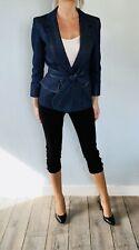 Veste blazer en jeans YVES SAINT LAURENT - T.38