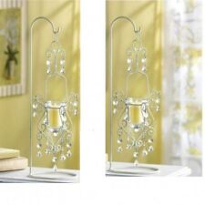 2 Large Ivory Candelabra Candle Holder Wedding Centerpieces