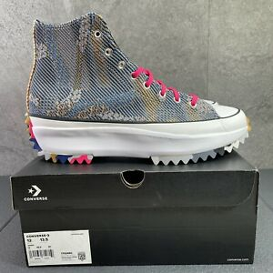 Converse Run Star Hike High Knit Mashup Size 12 Mens Multicolor Sneaker Shoes
