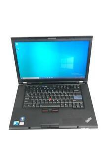 """Lenovo ThinkPad T510 15.6"""" Core i5 520M 8GB RAM 500 GB HDD Win 10 Pro"""