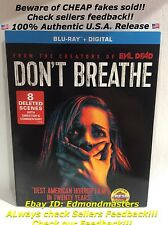 Don't Breathe 2016 Blu Ray + Digital HD, Brand New Sealed Ships out Fast!!