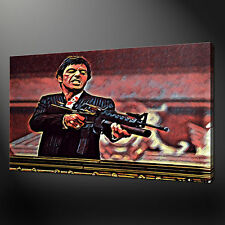 TONY MONTANA AL PACINO WALL ART CANVAS PRINT PICTURE VARIETY OF SIZES