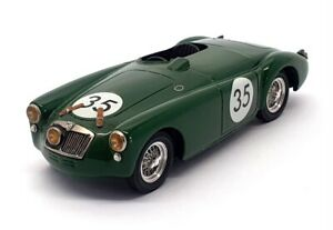 Unknown Brand 1/43 Scale Built Kit 28621R - MGA Race Car #35 Green