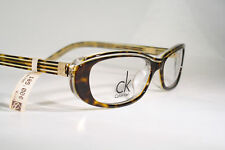 New CALVIN KLEIN 5580 Brown Marble Tortoise Women's Eyeglass Frames Eyeglasses