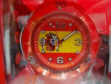 Ice Watch World Spain Armbanduhr Rot Unisex 43 cm M 10 ATM WO.ES.B.S.12 NEU BIG