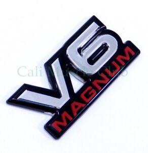 94-01 Dodge V6 Magnum Fender Door OEM Nameplate Badge Logo Mopar 1500 Van Emblem