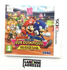 NINTENDO 3DS MARIO ET SONICAUX JEUX OLYMPIQUES DE LONDRES 2012 - VERSION FRANCAI