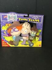RUGRATS MOVIE TOON TEAM CHUCKIE DIL & BABY PLUSH NEW 1998