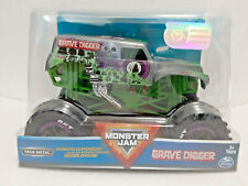 Grave Digger (2019) Spin Master Monster Jam 1:24 Scale Die-cast Truck Silver New