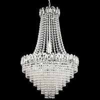 SEARCHLIGHT 1711-11CC CRYSTAL 11 LIGHT CEILING PENDANT IN CHROME