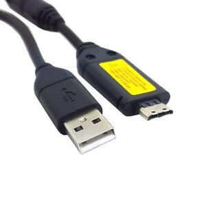 Usb Data Sync Charger Cable Lead  Samsung Camera Es55,Es57 Es60 Es63 Es 65 Es67