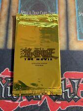Yugioh The Movie 2004 Dorado Pack Promocional Nuevo Sellado De Fábrica! nuevo!