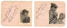 Billy Caryll, Murray & Mooney Cut Signatures! Autograph! Lassie from Lancashire