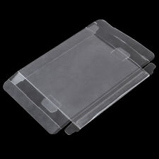 Clear PET Plastic Box Protectors Cases Sleeves Cover For SNES N64 CIB Boxed-Game