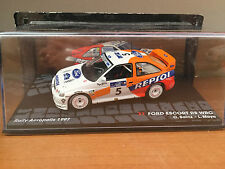 "DIE CAST "" FORD ESCORT RS WRC RALLY ACROPLIS 1997 "" PASSIONE RALLY SCALA 1/43"