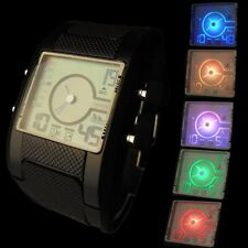 Excellanc Armbanduhren mit Silikon -/Gummi-Armband und 12-Stunden-Zifferblatt