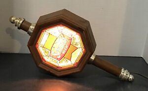1978 SCHMIDT BEER LIGHT UP WALL LIGHT, MINNESOTA BACK BAR COACH LAMP SERIES