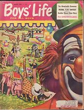 Boys Life March 1960 Patrol Flag Contest, The Abominable Snowman w/Ml 011717Dbe2