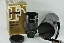 Nikon Nikkor 500mm f/8 mirror lens Manual Focus UK Seller Boxed