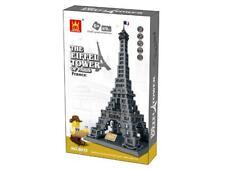 Eiffel Tower Paris Frances Building Blocks Bricks - Wange
