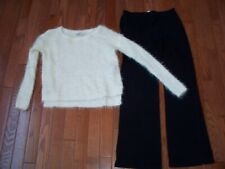 Lots of 2 Girls Comfy Outfits, Size 10-12, Pre-owned