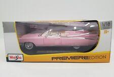 Maisto Premiere Ed. Cadillac ELDORADO BIARRITZ 1959 1/18 Diecast Model #36813