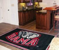 NCAA Alabama Crimson Roll Tide 4 x 6 area rug 4' x 6' Fanmats USA QUICK SHIP