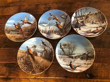 David Maas Pheasant Plate Collection - Danbury Mint Collectors Plates