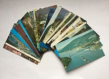 38 unused postcards of British Columbia B.C. Canada, 30-40 years old
