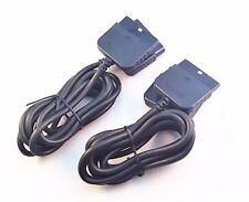 2x PS2 Controller Verlängerung / Extension Kabel NEU ca 1,80m / Playstation 2