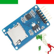 Modulo Micro SD card mini TF card reader module SPI arduino