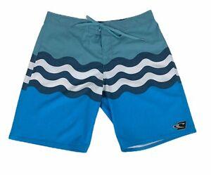 O'Neill Jordy Freak Boardshorts, Blue, 34W