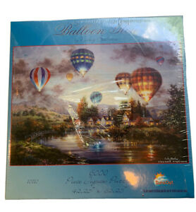 """Sunsout 6,000 Piece Balloon Glow 42.25"""" X 62.25"""" jigsaw puzzle by Nicky Boehme"""