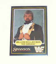 WWF card Million dollar man Ted Dibiase swanson 1991