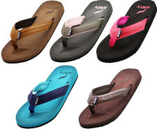 Norty Women's Soft Cushioned Footbed Flip Flop Thong Sandal - Runs 1 Size Small