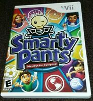 Smarty Pants Trivia fun for Everone! (Nintendo Wii, 2007) Complete & Tested