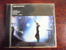 CD Musica,Sade,Lovers Live,Sony 2002
