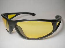 POLARIZED-NIGHT-DRIVE-SUN-GLASSES-YELLOW-LENS-HD-VISION 100% UV-331POL-MATTE BLK