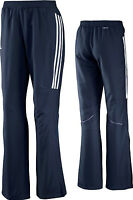 adidas T12 Team Hose, Damen/Frauen blau Jogginghose Trainingshose X13419