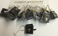 12 Holy Bible Key Chain Wholesale English Party Favor Christianity Religion