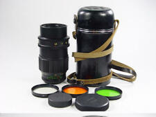 20 aperture blades !! Black TAIR-11a 2.8/135mm M42. s/n 872449. Zenit KMZ.
