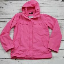 Columbia Titanium Omi Tech Girl Pink Jacket Size 18/20 Youth