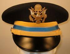 US Army Company Grade Officer Intelligence Dress Blues Uniform Hat Cap w/ Crest